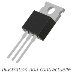 TRIAC  BTA 16-700 B  700V 16A  TO-220Iso