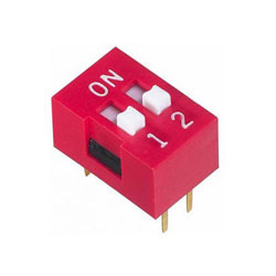 DIP SWITCH INTER 2T