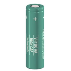 ACCUS CYLINDRIQUE NI-MH AA 1340mAh
