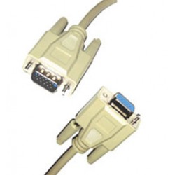 CABLE RALLONGE 15 PTS HD MALE/FEM 10m