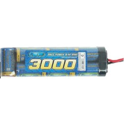 PACK BATTERIES MODELISME 9V6 3000mAh