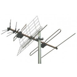 ANTENNE UHF 15 ELEMENTS COMPATIBLE TNT