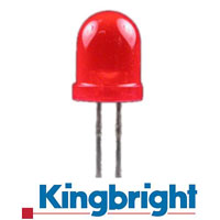 KINGBRIGHT DIAMETRE 10 MM