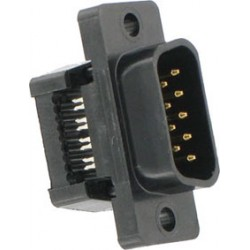 CONNECTEUR SUB D 9 MALE STANDARD