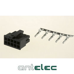 ANTELEC CONNECT.MALE PRE-CABLE 2P 3,00