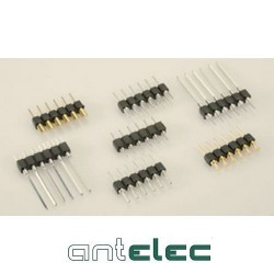 ANTELEC BARRETTE 1x64 MALE Ø0,5mm 2,54