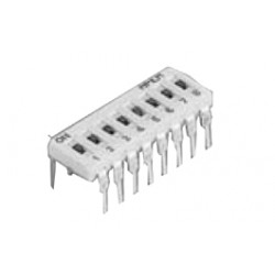 INTER DIP SWITCH CI APEM 6 CONTACTS
