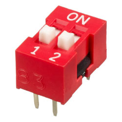 INTER DIP SWITCH APEM 2 CONTACTS NDS