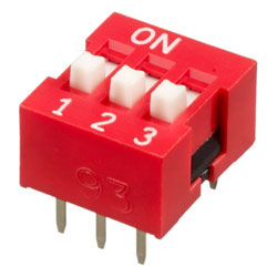INTER DIP SWITCH APEM 3 CONTACTS NDS
