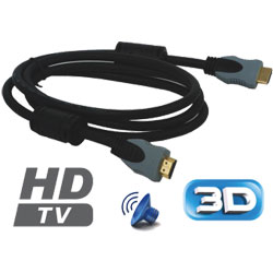 CORDON HDMI GOLD 18 BROCHES 3m