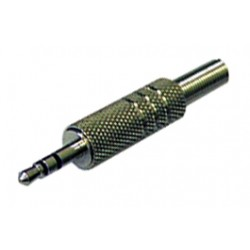 FICHE JACK 3.5mm MALE STEREO NICKEL