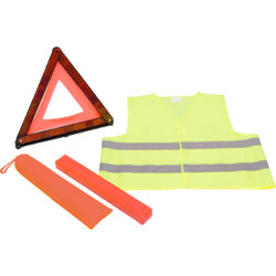 KIT SECURITE - TRIANGLE + GILET