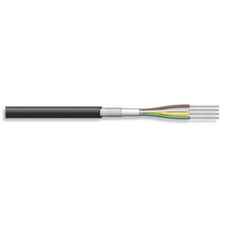 100M CABLE BLINDE 4x0,25 mm²   Ø4,9mm
