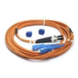 CORDON FIBRE OPTIQUE ST-SC 3mm 1M