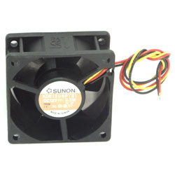 VENTILATEUR 12Vdc-2,3W > 60x60x25mm
