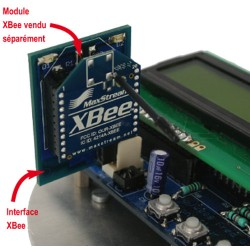 EASY ROBOTICS INTERFACE POUR MODULE XBEE