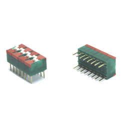 DIP SWITCH  8T  FAB. SECME