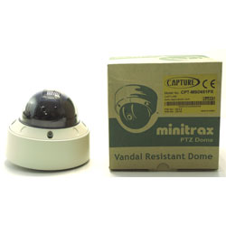 DOME MOTORISE ANTI VANDALE MINITRAX
