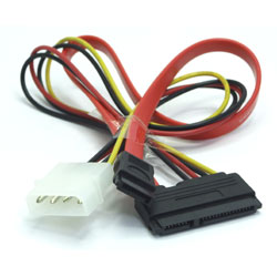 CABLE ALIMENTATION MOLEX-SATA 30cm