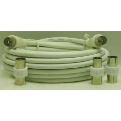CORDON COAXIAL MALE/MALE 9,52mm/5 M