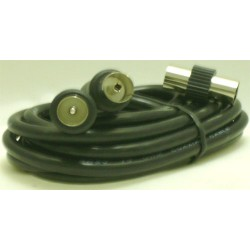 CORDON COAXIAL MALE/FEM. 9,52mm/2 M