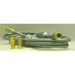 CORDON COAXIAL PRO M 9,52mm/F MALE-- 2 M