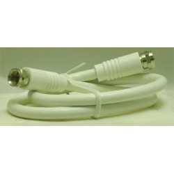 CORDON COAXIAL FICHES F MALE/MALE 0,50 M