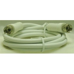 CORDON COAXIAL FICHES F MALE/MALE 1,20 M
