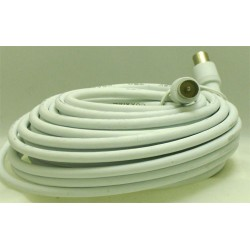 CORDON COAXIAL MALE/MALE 9mm LONG:10 M