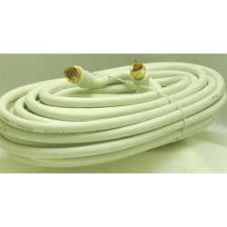 CORDON COAXIAL FICHES F MALE/MALE 10 M