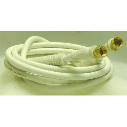 CORDON COAXIAL FICHES F MALE/MALE 2 M