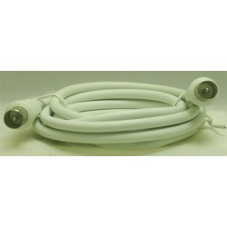 CORDON COAXIAL MALE/MALE 9,52mm/1,50 M