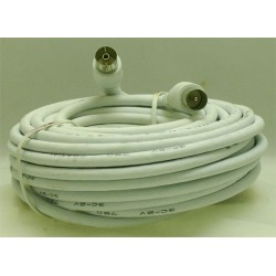 CORDON COAXIAL MALE/FEM. 9,52mm/10 M