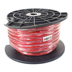 CABLE ROUGE 50mm² COURANT FORT RX 25M
