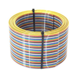 NAPPE MULTICOLORE 64 COND. Pas 1,27mm 5M