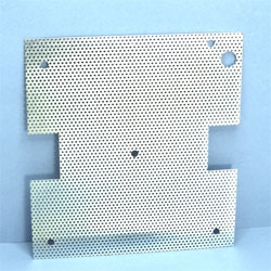 GRILLE METAL 120 x 110mm LOT 10 P