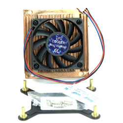 VENTILATEUR>DISSIPATEUR CPU 83x78x25mm