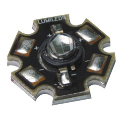LED LUXEON STAR LXHL-MD1D ROUGE 1W 44lm
