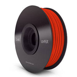 FILAMENT ABS 1.75MM 1KG ZORTRAX ROUGE
