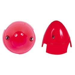 CONE HELICE Ø 69mm ROUGE A2PRO 5105