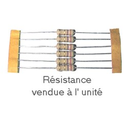 RESIS.A COUCHE 1 W 62 OHMS