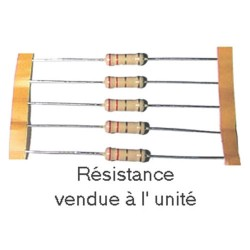 RESIS.A COUCHE 2 W 43 OHMS