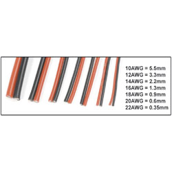 GF-1340-007 CABLE SUPERFLEX 22AWG