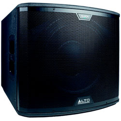 ALTO BLACK15S TRANSDUCTEUR 15""