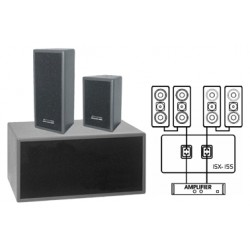 JB SYSTEMS IXS15 SUBWOOFER SAT 2x350Wrms