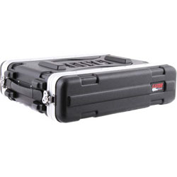 GATOR GR2S FLIGHT CASE COURT RACK 2U
