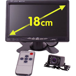 SYSTEME CAMERA DE RECUL TFT 7'' ELECTRIS