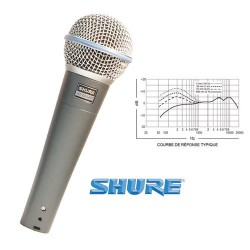 SHURE BETA58 MICROPHONE VOCAL